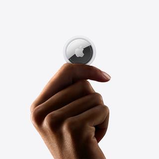 Apple 苹果 Air Tag皮革钥匙扣 红色