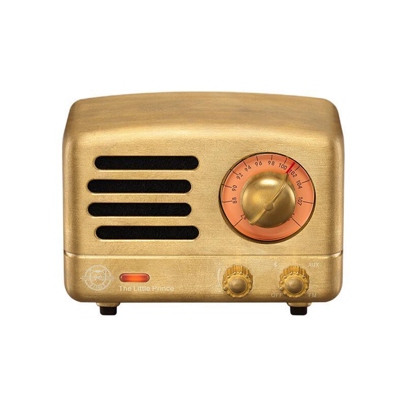 MAO KING 猫王音响 猫王 小王子系列 MW-2A 便携蓝牙音箱 时光珍藏黄铜版