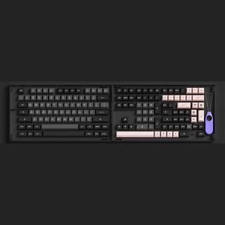 Akko 艾酷 Black&Pink PBT 二色成形 ASA高度 黑粉键帽 158键
