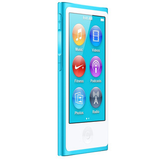 Apple 苹果 MD477CH/A 音频播放器 16G 蓝色(3.5mm单端)