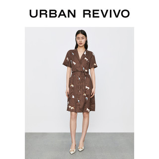 URBAN REVIVO YU08S7EN2007 女士连衣裙