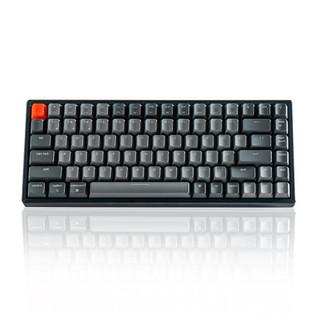 J.ZAO 京东京造 K2蓝牙双模机械键盘 84键背光红轴无线键盘 Mac/iPad键盘 键盘机械 蓝牙键盘 键盘无线