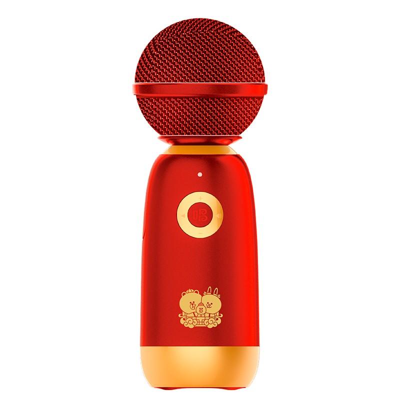 唱吧 Q3 LINE FRIENDS新年礼盒版 无线麦克风 红色