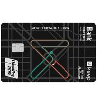 CEB 中国光大银行 Keep联名系列 信用卡菁英白金卡 黑色版