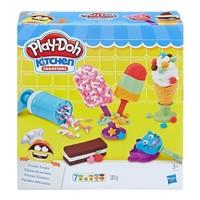 PLUS会员:Hasbro 孩之宝 培乐多 彩泥黏土创意厨房系列 E0042 冰激凌甜点套装