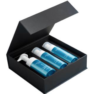 水肌美 男士净爽控油焕肤套盒 泡沫洁面 保湿爽肤水 精华乳液