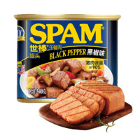 SPAM 世棒 午餐肉罐头 黑椒味 340g