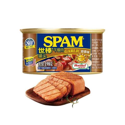 有券的上:SPAM 世棒 午餐肉罐头 蒜香口味 198g