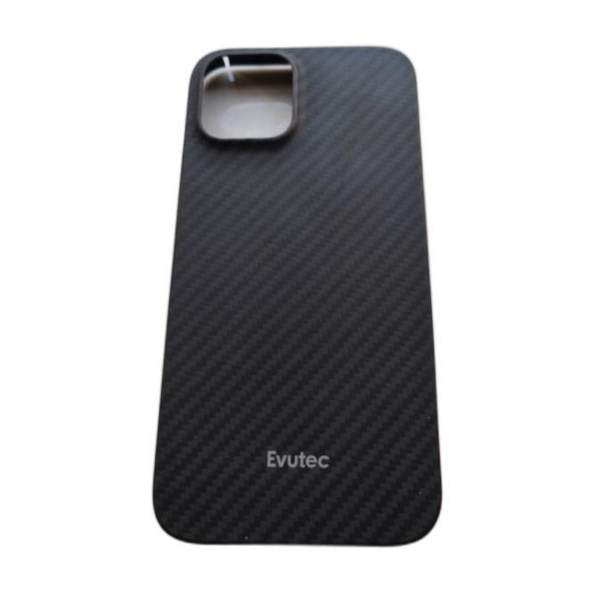 Evutec iPhone12 Pro 芳纶纤维手机壳 商务黑