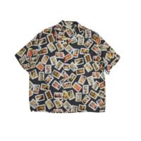 JieDa 男士短袖衬衫 21S-SH06-A
