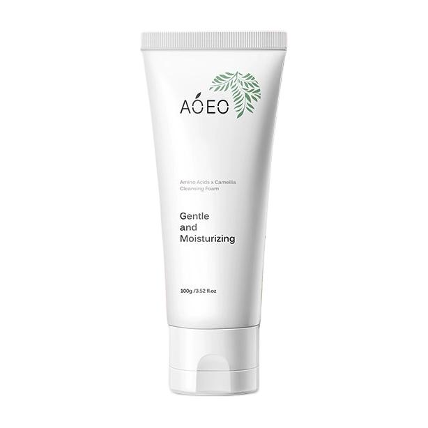 AOEO 山茶花洁面乳氨基酸洗面奶100g(深层清洁毛孔温和控油护肤品男女士 )