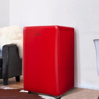 东宝 BC-99FAU 直冷单门冰箱 胭脂红 99L
