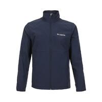Columbia 哥伦比亚 轻盈防风 男款弹力柔软舒适长袖外套 WE1306-464