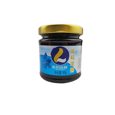 蓝韵森林 蓝莓沙棘果蔓越莓三口味可选 点心果茶DIY 180g/瓶
