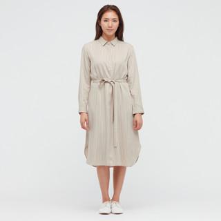 UNIQLO 优衣库 436063 女士衬衫连衣裙