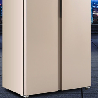 SONLU 双鹿 BCD-518WSKE 风冷对开门冰箱 518L 玫瑰金