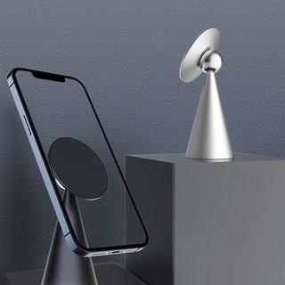 十一号线  iPhone12 MagSafe 磁吸式手机支架 银色