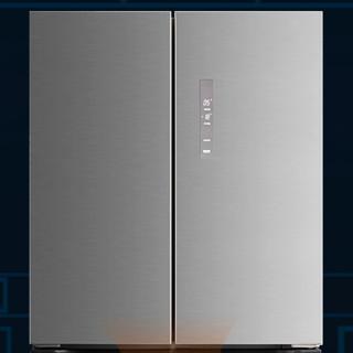 德努希 BCD-468WPC 风冷十字对开门式冰箱 468L 雅典银