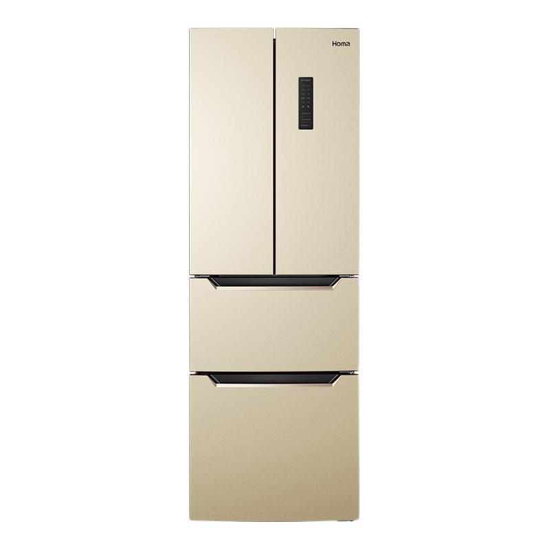 Homa 奥马 BCD-252WF/B 风冷多门冰箱 252L 金色