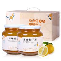 HENG SHOU TANG 恒寿堂 蜜炼柚子茶 1kg*2罐