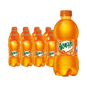 PEPSI 百事 美年达可乐 Mirinda 橙味汽水 碳酸饮料整箱 300ml*12瓶 (新老包装随机发货) 百事出品