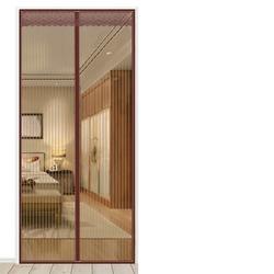 爱罗兰 魔术贴防蚊门帘磁性纱门夏季家用磁铁对吸高档卧室隔断纱窗免打孔