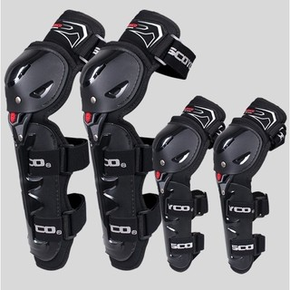 SCOYCO 赛羽 摩托车 经典防摔护具4件套