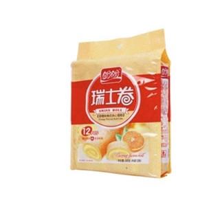 PANPAN FOODS 盼盼 瑞士卷 香橙味 240g