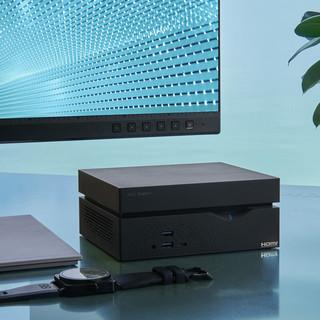 ASUS 华硕 VC66 23.8英寸 台式机 黑色(酷睿i5-10400、核芯显卡、8GB、256GB SSD、风冷)