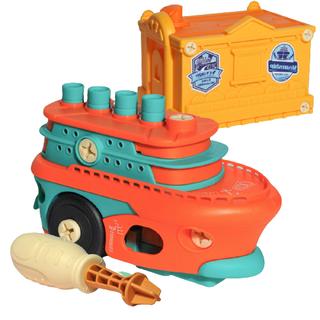 SUXIANG 苏湘 悦惠 儿童拆装轮船玩具