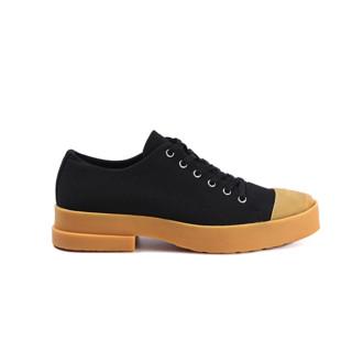untitlab 女士低帮帆布鞋 SS211401 黑色 37