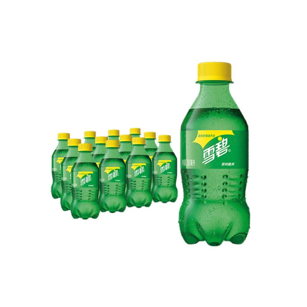 Coca-Cola 可口可乐 雪碧 Sprite 柠檬味 汽水 碳酸饮料 300ml*12瓶 整箱装 可口可乐公司出品