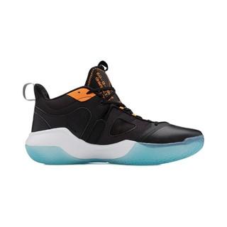 LI-NING 李宁 暴风BadFive系列 男子篮球鞋 ABPQ045-1 黑白橙 40