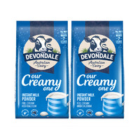 DEVONDALE 德运 全脂高钙成人奶粉 1KG