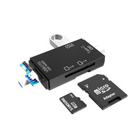 SANTIAOBA 叁條捌 USB2.0 多功能读卡器