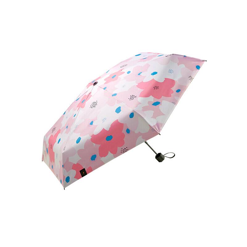 Beneunder 蕉下 太阳伞防紫外线雨伞迷你防晒伞折叠晴雨伞遮阳伞口袋系列47cm*6骨 松月