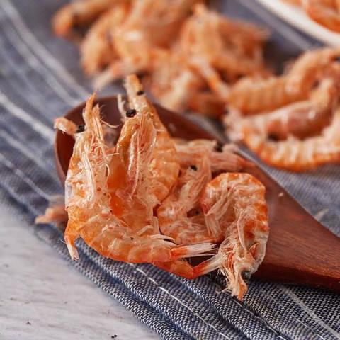 TIANYUMIDUO 天宇米朵 不加盐淡大红虾皮虾干  500g