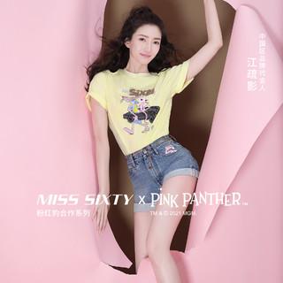 MISS SIXTY x 粉红豹合作系列 6N2JJ7200000 女士牛仔裤
