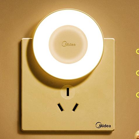 Midea 美的 卧室小夜灯 手动开关款