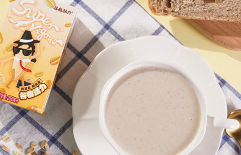88VIP:谷粒谷力 五谷早餐奶豆奶 250ml*10盒*2箱
