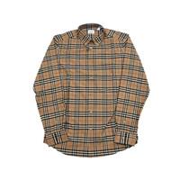 黑卡会员:BURBERRY 博柏利 男士格纹图案长袖衬衫