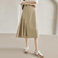 DUIBAI 对白 BDS039X 不规则设计A字半身裙