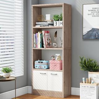 PLUS会员 : 雅美乐 YXSG403 实木色储物收纳柜子 橡木色