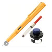 LAMY 凌美 Safari狩猎者 钢笔 芒果黄 F尖+吸墨器+黑色墨水