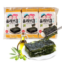 ZEK 儿童海苔紫菜 橄榄油味 4g*3包