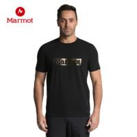 限尺码:Marmot 土拨鼠 R44130 男款运动休闲T恤