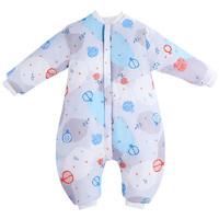 Elepbaby 象宝宝 婴儿纱布薄棉分腿睡袋 水果切切 M码
