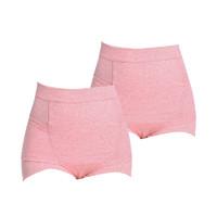 INUJIRUSHI 犬印本铺 SH2515L 产后收腹内裤 M码 粉色 2条装