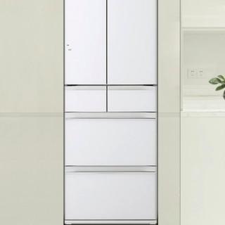 HITACHI 日立 R-HW540JC 风冷多门冰箱 520L 水晶白色