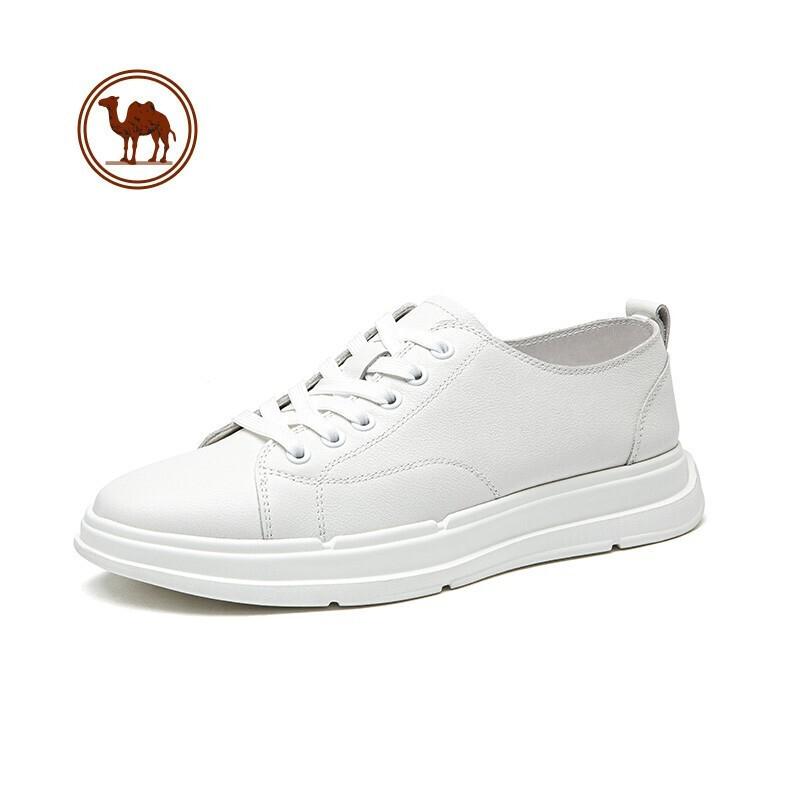 PLUS会员 : CAMEL 骆驼 W112541610 男士小白鞋